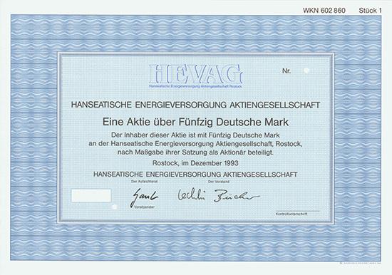 Hanseatische Energieversorgung AG