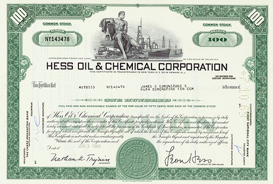 Hess Oil & Chemical Corporation