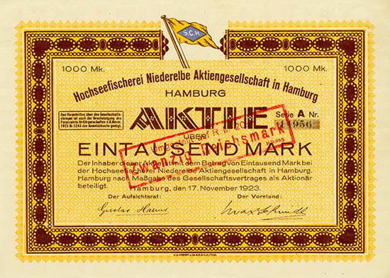 Hochseefischerei Niederelbe AG