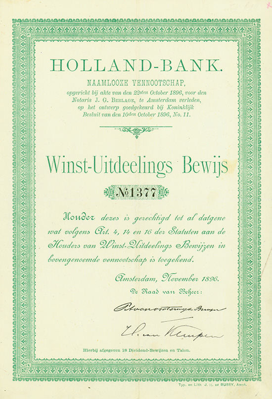 Holland-Bank N.V.