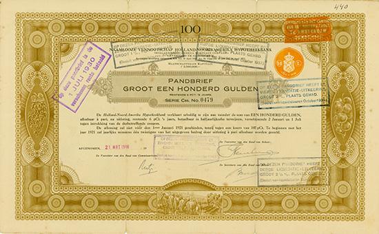 Holland-Noord-Amerika Hypotheekbank N.V. / Holland-North-America Mortgage Company