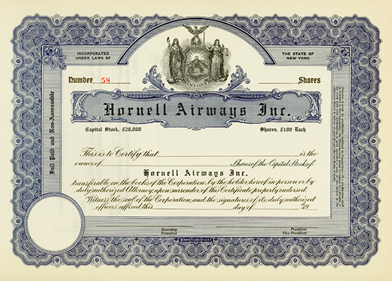 Hornell Airways Inc.