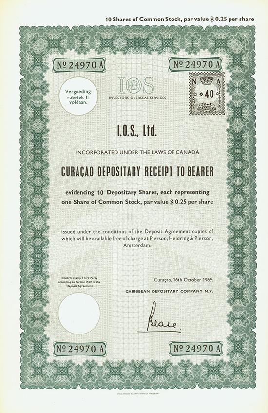 I.O.S., Ltd.