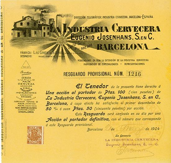Industria Cervecera Eugenio Josenhans, S. en C.