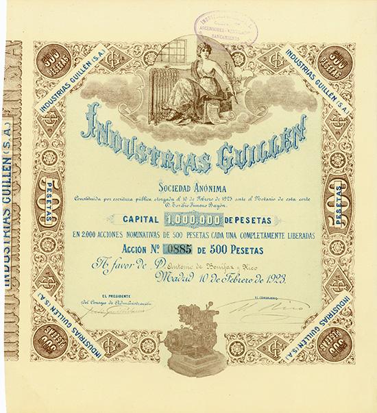 Industrias Guillen S.A.