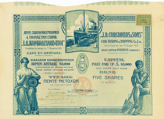 J.D. Corcodilos & Sons Coal Trading & Shipping Co., Ltd.