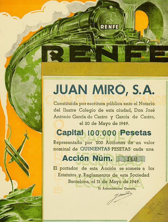 Juan Miro S.A. - RENFE