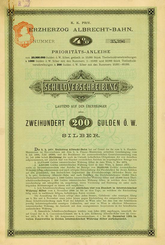 K. k. priv. Erzherzog Albrecht-Bahn