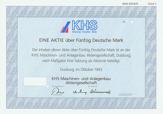 KHS Maschinen- und Anlagenbau AG