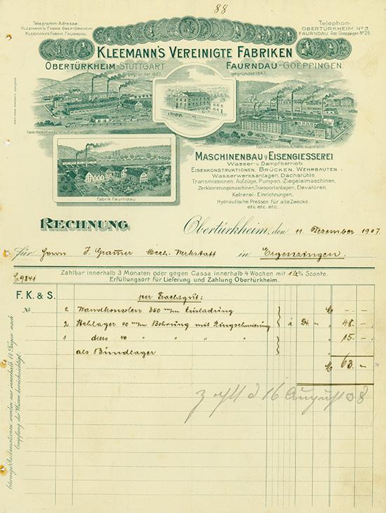 Kleemann's Vereinigte Fabriken
