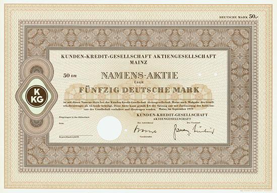 Kunden-Kredit-Gesellschaft AG
