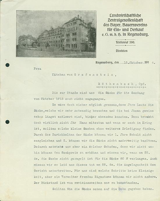 Landwirtschaftliche Zentralgenossenschaft des Bayer. Bauernvereins für Ein- und Verkauf eGmbH