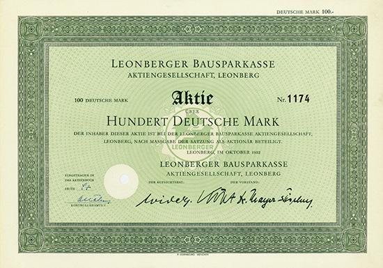 Leonberger Bausparkasse AG