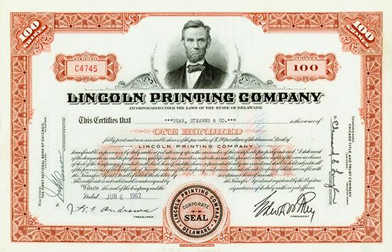 Lincoln Printing Company