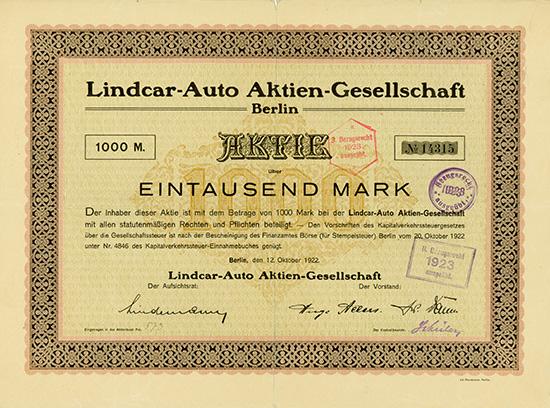 Lindcar-Auto AG