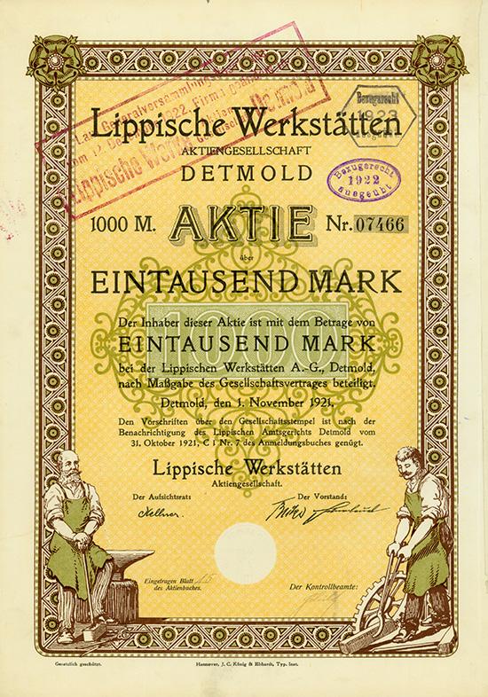 Lippische Werkstätten AG