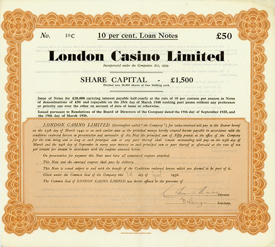 London Casino Limited