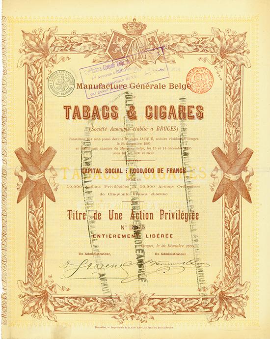 Manufacture Generale Belge de Tabacs & Cigares