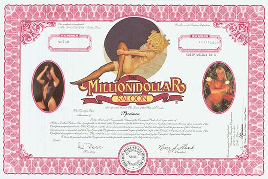 Million Dollar Saloon