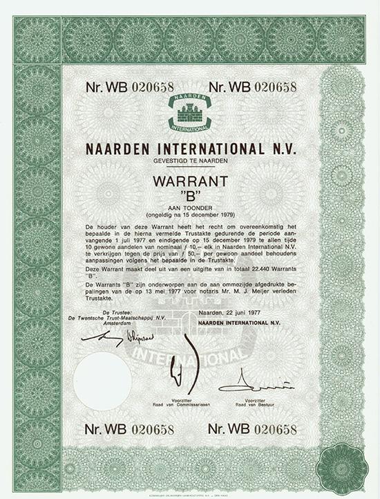 Naarden International N.V.