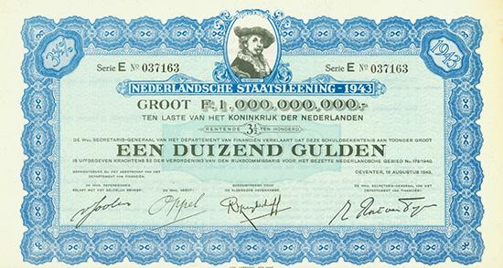 Nederlandsche Staatsleening 1943