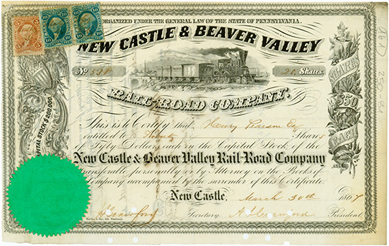 New Castle & Beaver Valley Rail-Road Company