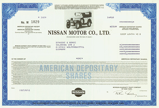 nissan motor co ltd case study Carlos ghosn and nissan motor co ltd (a) case solution, in march 1999, renault, the ninth largest carmaker in the world, announced the acquisition of a 368 percent stake in nissan motor for $ 54b.