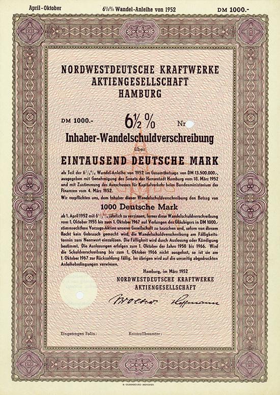 Nordwestdeutsche Kraftwerke AG