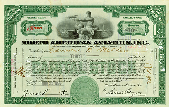 North American Aviation, Inc.