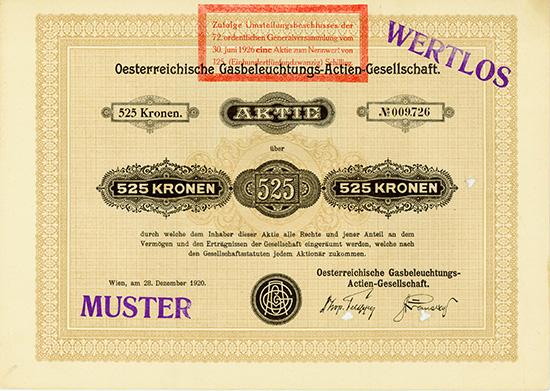Oesterreichische Gasbeleuchtungs-AG
