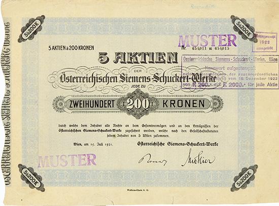 Oesterreichische Siemens-Schuckert-Werke