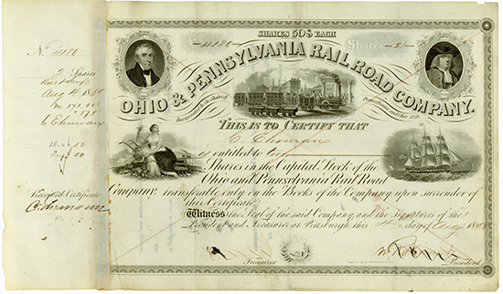 Ohio & Pennsylvania Rail Road Company