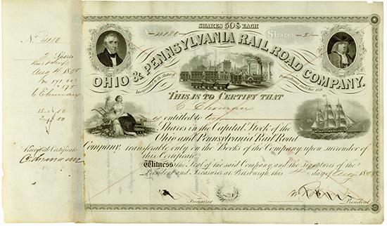 Ohio & Pennsylvania Rail Road Company