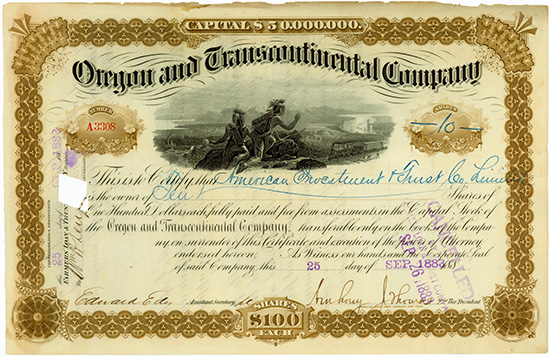 Oregon and Transcontinental Company