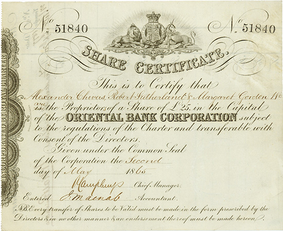 Oriental Bank Corporation
