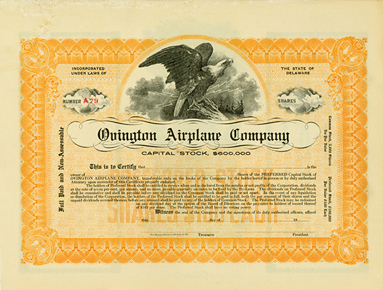 Ovington Airplane Company