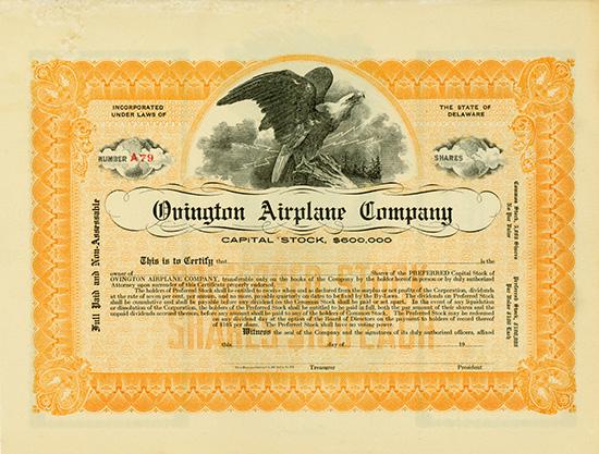 Ovington Airplane Company