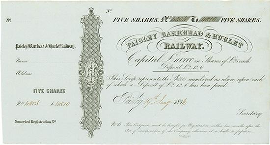 Paisley Barrhead & Hurlet Railway