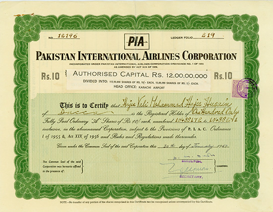 Pakistan International Airlines Corporation