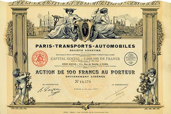 Paris-Transports-Automobiles S.A.