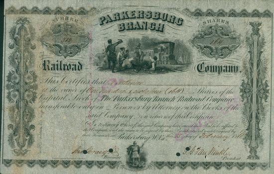 Parkersburg Branch Railroad Company