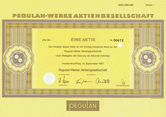 Pegulan-Werke AG