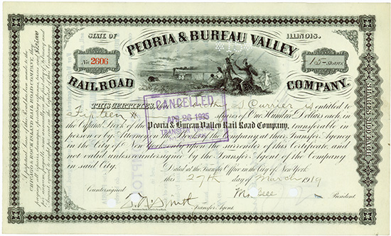 Peoria & Bureau Valley Railroad Company