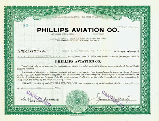 Phillips Aviation Co.