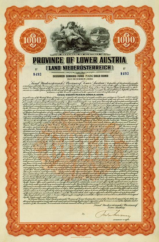 Province of Lower Austria (Land Niederösterreich)