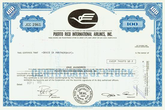Puerto Rico International Airlines, Inc.