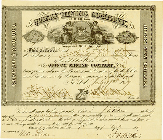 Quincy Mining Company of Michigan