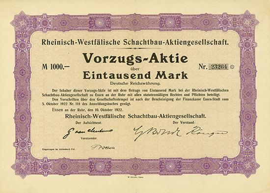 Rheinisch-Westfälische Schachtbau-AG