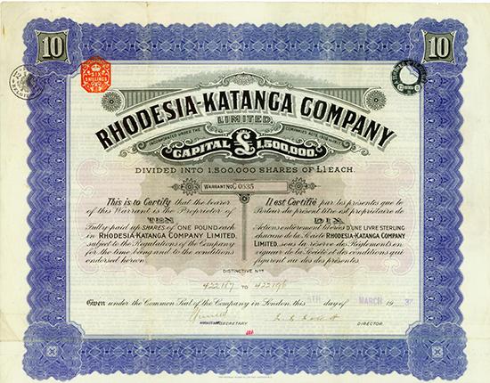 Rhodesia-Katanga Company Limited