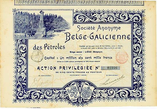 S.A. Belge-Galicienne des Petroles